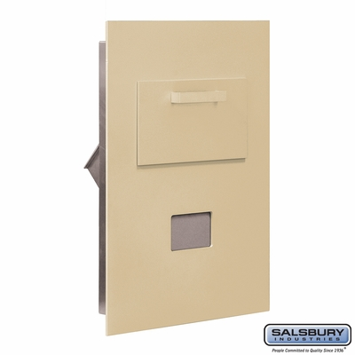 Salsbury 3600C5-SRP Collection Unit-For 5 Door High 4B+ Mailbox