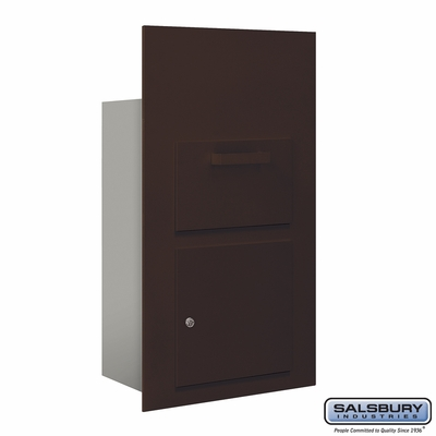 Salsbury 3600C6-ZFU Collection Unit For 6 Door High 4B+ Mailbox