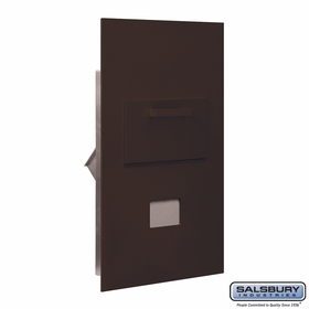 Salsbury 3600C6-ZRU Collection Unit For 6 Door High 4B+ Mailbox