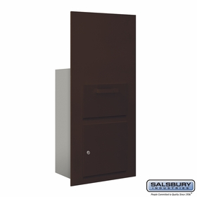 Salsbury 3600C7-ZFP Collection Unit-For 7 Door High 4B+ Mailbox