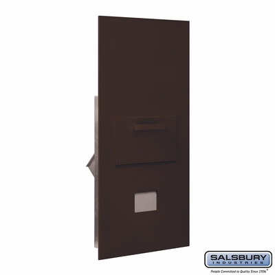 Salsbury 3600C7-ZRU Collection Unit For 7 Door High 4B+ Mailbox