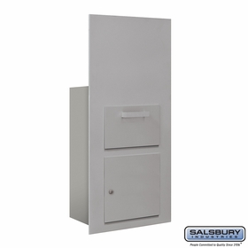Salsbury 3600C7-AFU Collection Unit For 7 Door High 4B+ Mailbox