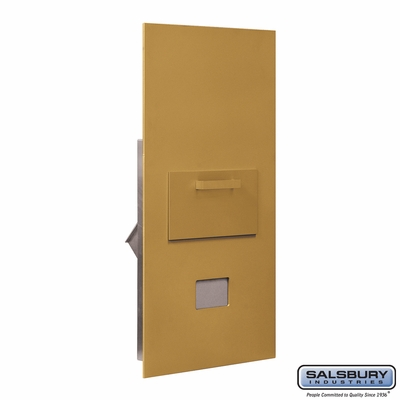 Salsbury 3600C7-GRU Collection Unit For 7 Door High 4B+ Mailbox