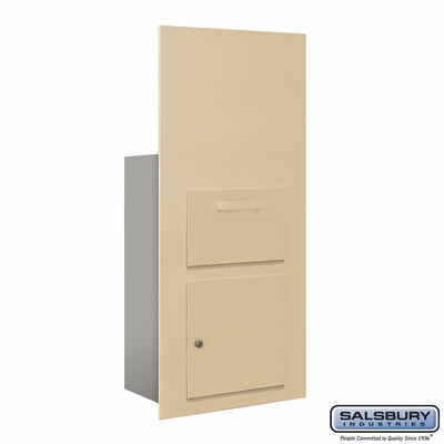 Salsbury 3600C7-SFP Collection Unit For 7 Door High 4B+ Mailbox