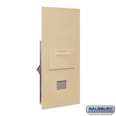 Salsbury 3600C7-SRP Collection Unit-For 7 Door High 4B+ Mailbox