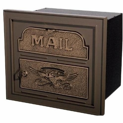 Column Insert Mailboxes - Bronze with Antique Bronze Accents