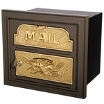 Gaines Locking Column Mailboxes