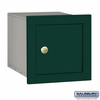 Salsbury 4140P-GRN Column Mounted Mailbox Without Slot In Green