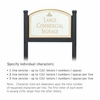 Salsbury 1522WGI1 Commercial Address Sign