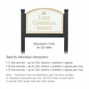 Salsbury 1522WGI2 Commercial Address Sign