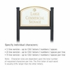 Salsbury 1522WGS1 Commercial Address Sign