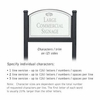 Salsbury 1522WSF2 Commercial Address Sign