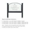 Salsbury 1522WSG1 Commercial Address Sign