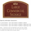 Salsbury 1520MGF2 Commercial Address Sign
