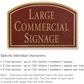 Salsbury 1520MGN2 Commercial Address Sign