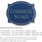 Salsbury 1540CSN2 Commercial Address Sign