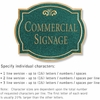 Salsbury 1540JGF2 Commercial Address Sign