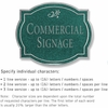 Salsbury 1540JSD2 Commercial Address Sign