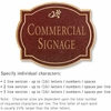 Salsbury 1540MGD2 Commercial Address Sign