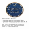 Salsbury 1530CGD Commercial Address Sign