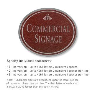 Salsbury 1530MSI2 Commercial Address Sign