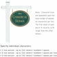 Salsbury 1531JGF1 Commercial Address Sign