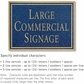 Salsbury 1510CGN Commercial Address Sign