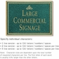 Salsbury 1510JGI Commercial Address Sign
