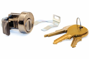 Compx/National Tenant Cam Lock With 3 Keys Each For Type II, III, and IV - Mailbox Replacement Part
