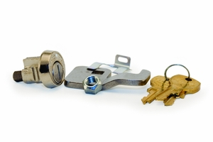 Compx/National Tenant Cam Lock With 3 Keys Each - Hook Cam For Type I