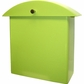 Contemporary Key Lime Monet Wall Mounted Mailbox