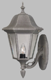 Contemporary Small Bottom Mount -Short tail Lighting Fixture