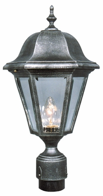 Contemporary Medium Post Lantern Set Lighting Fixture