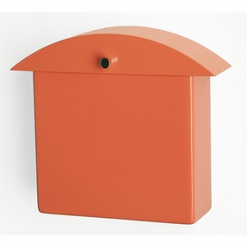 Contemporary Miami Mango Monet Wall Mounted Mailbox