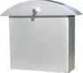 Contemporary Satin Nickel Monet Wall Mounted Mailbox