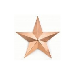 Copper Barn Star - Large Wall Decor
