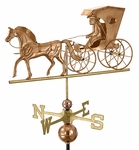 Country Doctor - Polished Weathervane