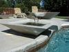 Cubic Scupper Fountain 24""