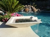 Cubic Scupper Fountain 42""