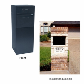 Curbside Model (with full service locking letterbox)