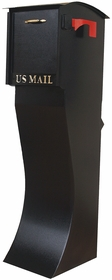 Curbvault High Security Mailbox - Black