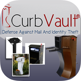 Mail Theft Solutions - Curb Vault Mailboxes