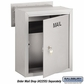 Salsbury 2266B-MR Custom Engraving Black Filled For Mail Receptacle