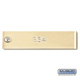 Salsbury 3768SAN Engraving Regular 4C Horizontal Mailboxes and Lockers
