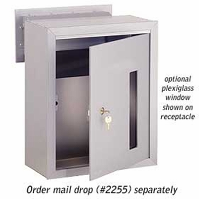 Salsbury 2273-MR Custom Plexiglass Window For Mail Receptacle