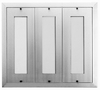 120 Name Capacity Directory - Mount Beside Horizontal Mailboxes Anodized Aluminum