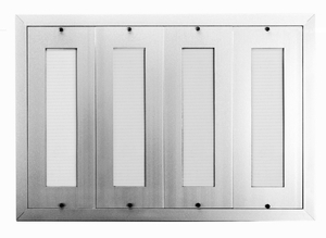 160 Name Capacity Directory - Mount Beside Horizontal Mailboxes Anodized Aluminum
