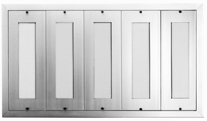 200 Name Capacity Directory - Mount Beside Horizontal Mailboxes Anodized Aluminum