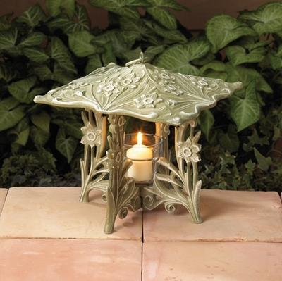 Whitehall Daffodil Twilight Lantern - French Bronze