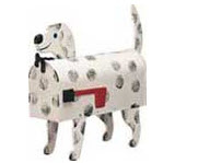 Dalmation Dog Novelty Mailbox